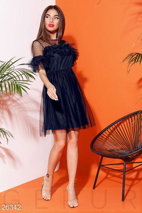 Пышное платье-сетка GEPUR