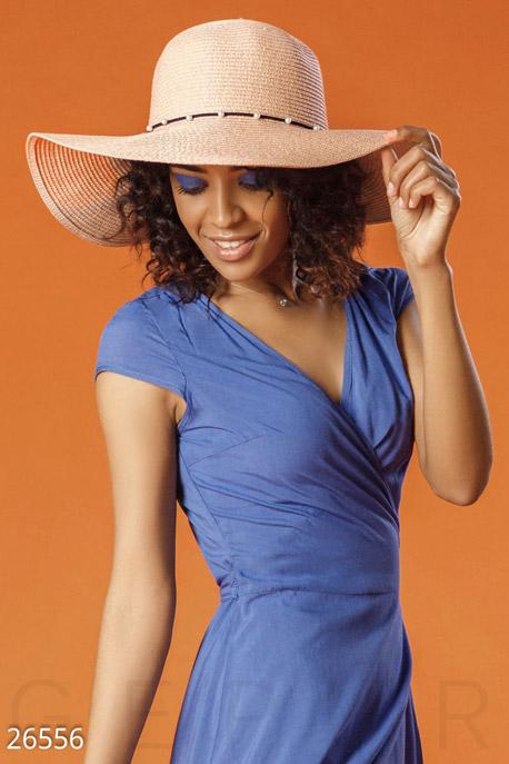 Купить Перчатки, шарфы, шапки / Шляпки, Женская соломенная шляпа, Шляпа-26556, GEPUR, пудрово-розовый