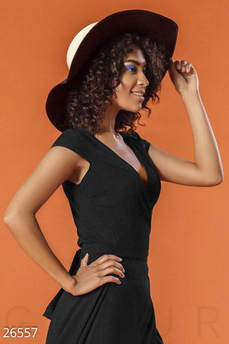 Купить Перчатки, шарфы, шапки / Шляпки, Двухцветная соломенная шляпа, Шляпа-26557, GEPUR, бежево-черный