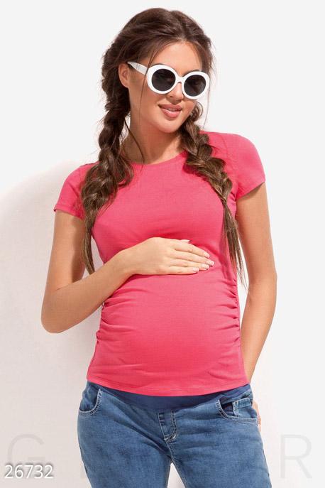 Купить Одежда для беременных / Футболки, Футболка для мамы, Футболка-26732, GEPUR, малиновый