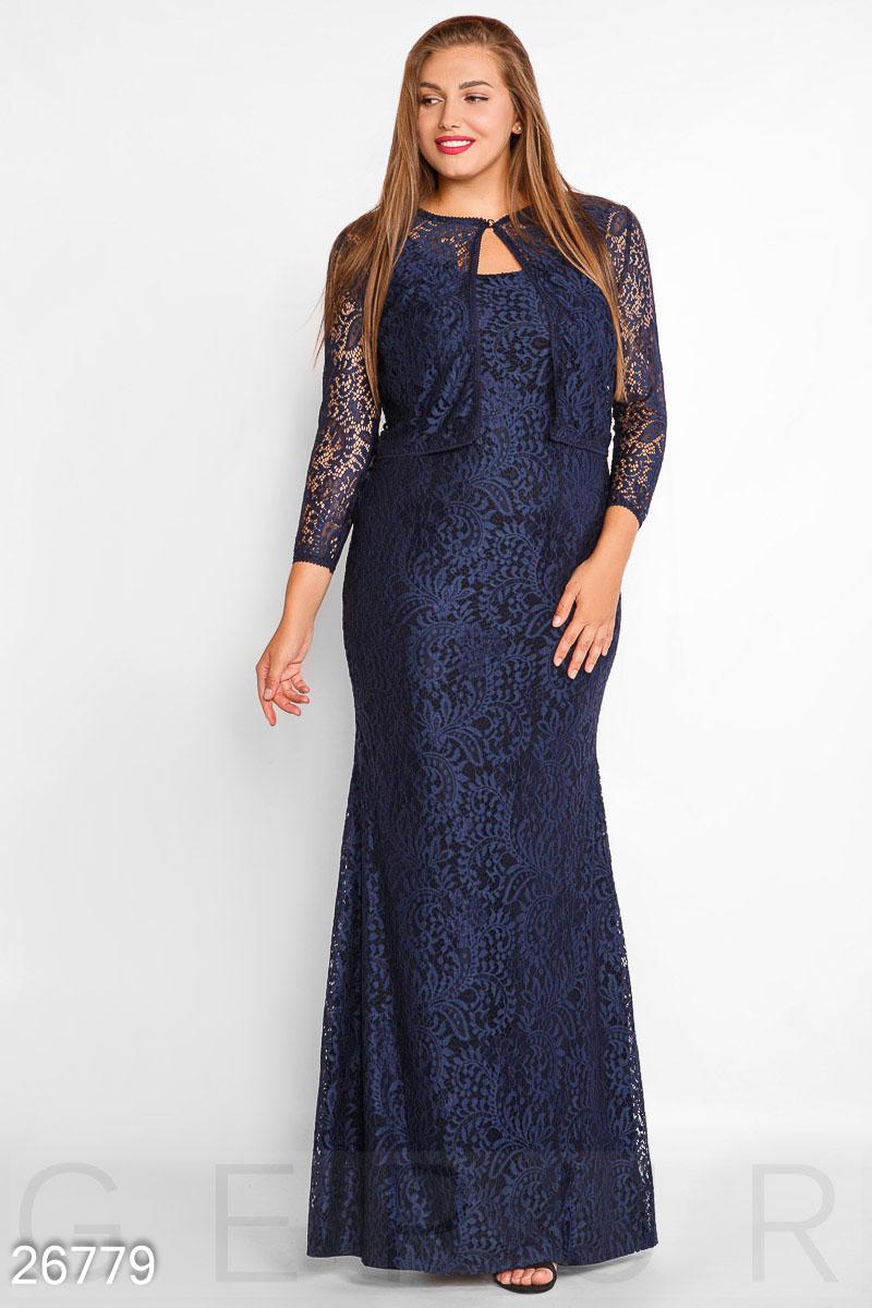 Потрясающее гипюровое платье