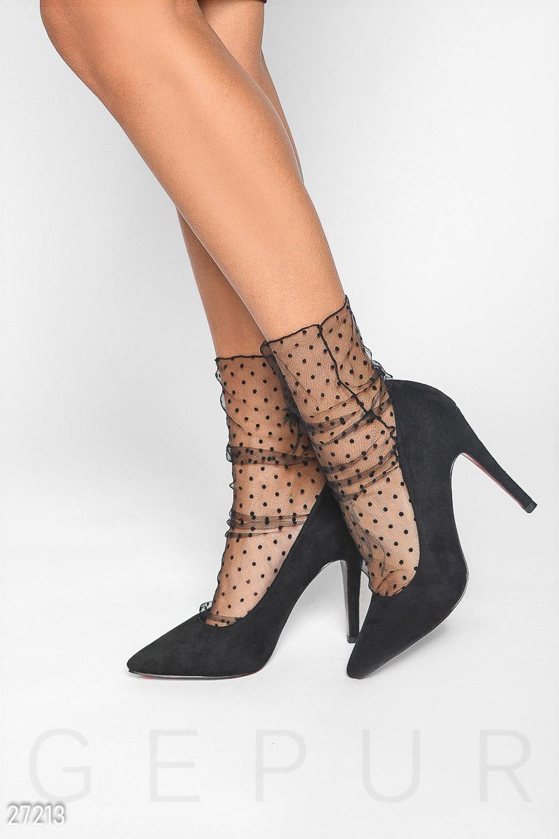 4fd11c96616fd Прозрачные носки в горошек, цена 224 грн., купить в Белой Церкви ...