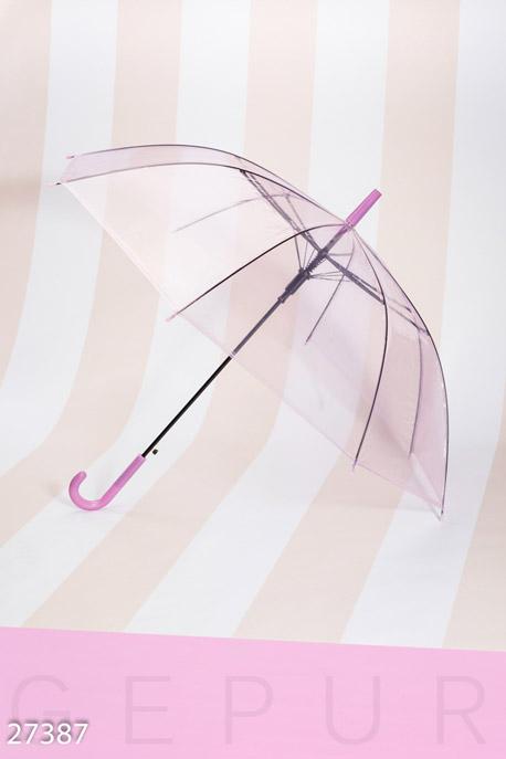 Купить Аксессуары / Зонты, Женский зонт-трость, Зонт-27387, GEPUR, фиолетовый