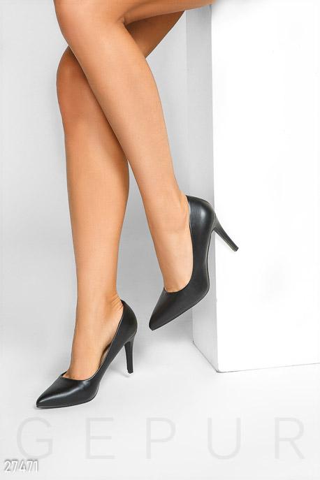 Купить Обувь / Туфли, Классические туфли-лодочки, Туфли-27471, GEPUR, черный