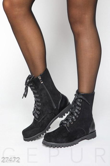 Ботинки на шнуровке GEPUR