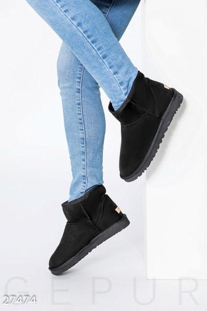 Купить Обувь / Угги, Замшевые угги Gepur, Угги-27474, черный