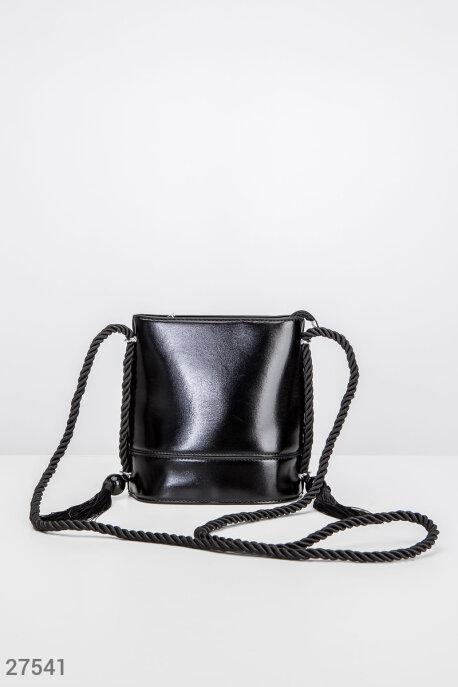 Купить Сумки, клатчи, кошельки / Сумки, Кожаная сумка-бочонок, Сумка-27541, GEPUR, черный
