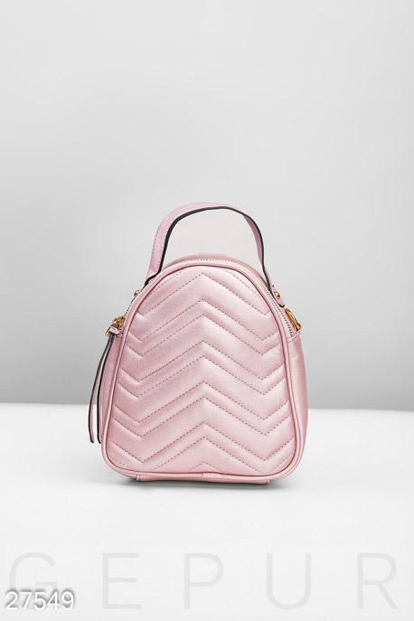Купить Сумки, клатчи, кошельки / Рюкзаки, Небольшой рюкзак-сумка, Рюкзак-27549, GEPUR, светло-розовый
