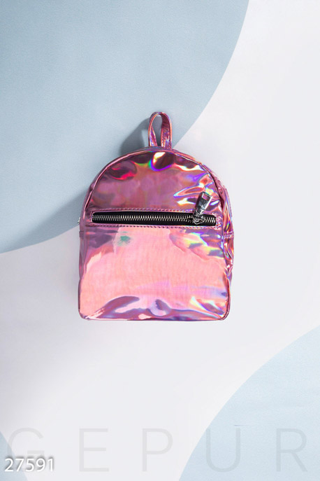 Купить Сумки, клатчи, кошельки / Рюкзаки, Городской женский рюкзак, Рюкзак-27591, GEPUR, розовый