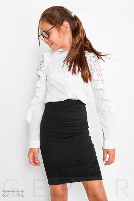 Купить Детская одежда, Детская юбка-карандаш, Юбка-27712, GEPUR, черный