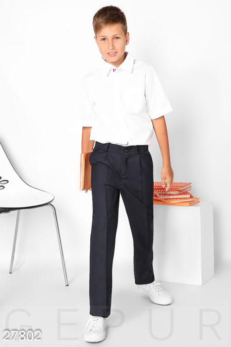 Купить Детская одежда, Рубашка с коротким рукавом, Рубашка-27802, GEPUR, белый