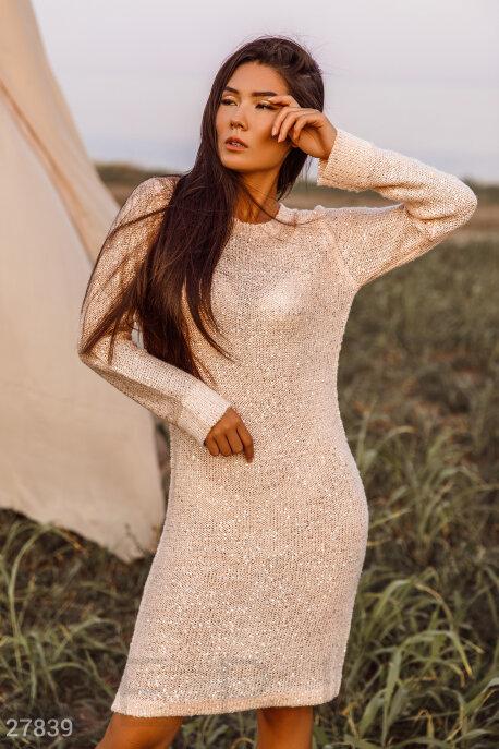 Платье с пайетками GEPUR