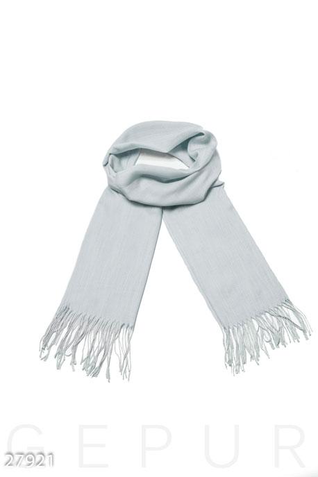 Купить Перчатки, шарфы, шапки / Шарфы, Легкий женский палантин, Палантин-27921, GEPUR, светло-серый