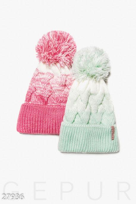 Стильная зимняя шапка GEPUR