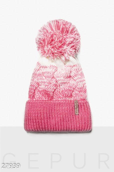 Яркая зимняя шапка GEPUR