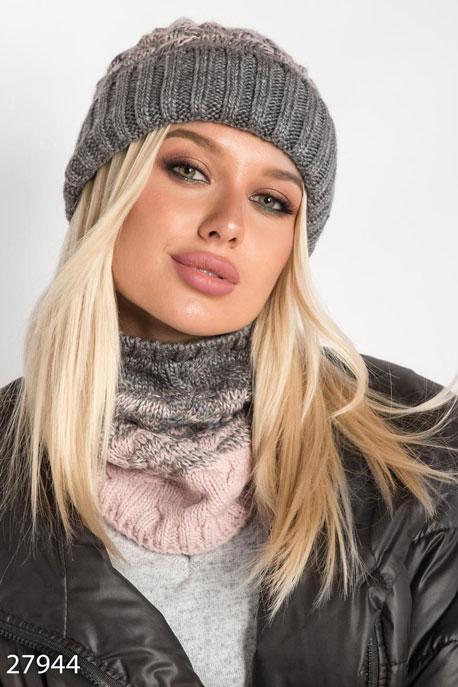 Зимняя шапка со снудом GEPUR