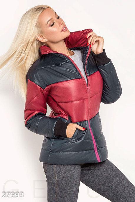 Двухцветная демисезонная куртка GEPUR