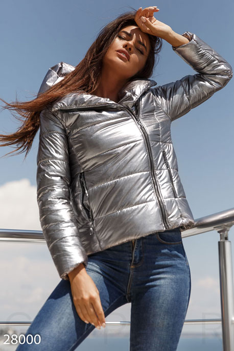 Трендовая теплая куртка GEPUR