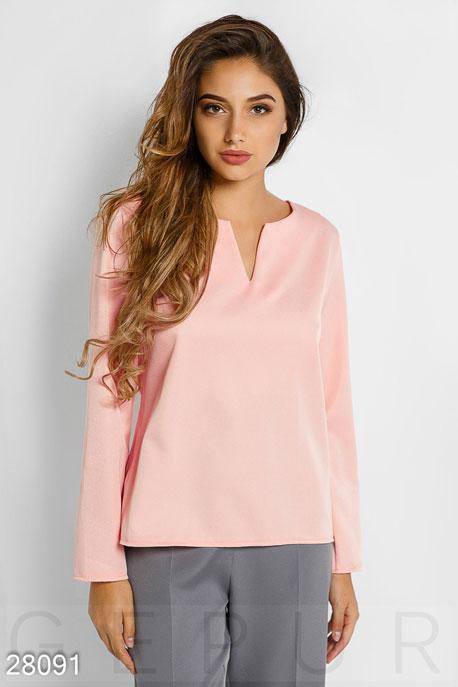 Купить Блузы, рубашки, Лаконичная женская блуза, Блуза-28091, GEPUR, розовый