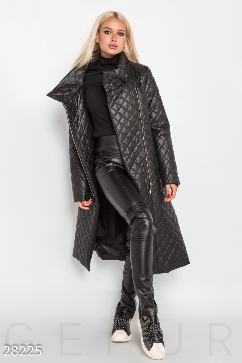 класичне прилягання вартісний шарм свіжі стилі Осеннее стеганое пальто купить в в Украине по доступной цене в ...