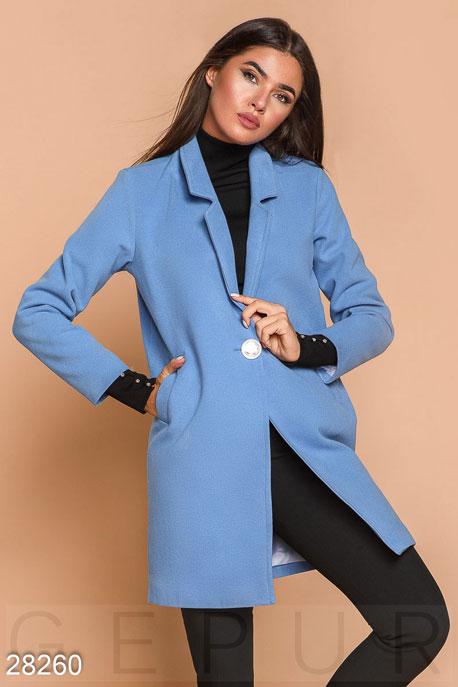 Кашемировое пальто-пиджак купить в интернет-магазине в Москве, цена 1660.67 |Пальто-28260