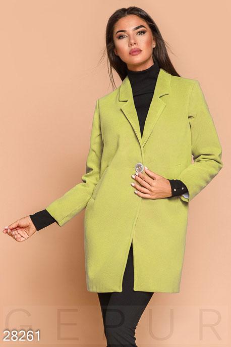 Демисезонное пальто-пиджак купить в интернет-магазине в Москве, цена 1660.67 |Пальто-28261