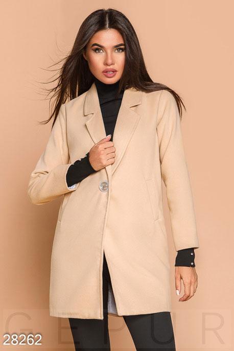 Лаконичное пальто-пиджак купить в интернет-магазине в Москве, цена 1660.67  Пальто-28262