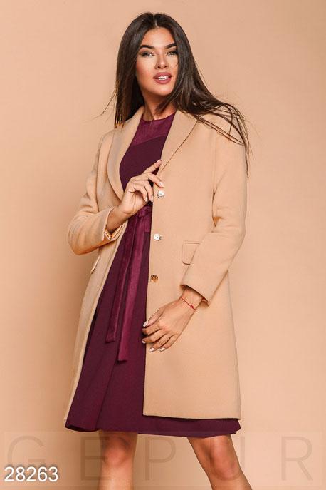 Классическое кашемировое пальто GEPUR