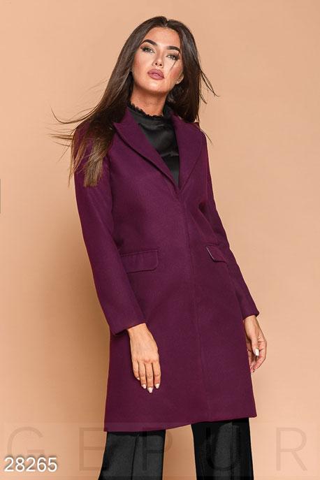 Приталенное кашемировое пальто купить в интернет-магазине в Москве, цена 2305.71 |Пальто-28265