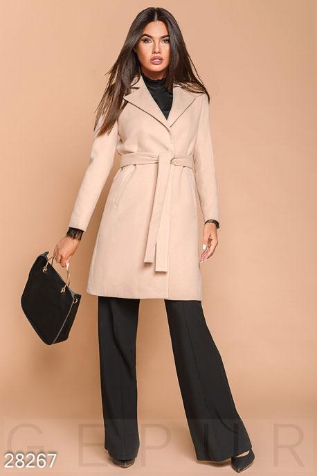 Двубортное женское пальто купить в интернет-магазине в Москве, цена 2373.73 |Пальто-28267