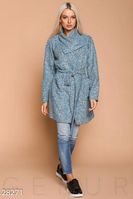 Купить Верхняя одежда / Плащи и кардиганы, Кардиган с поясом, Кардиган-28271, GEPUR, синий