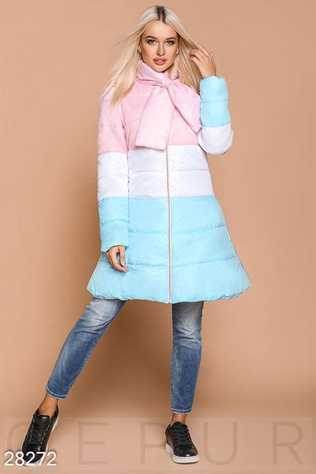 Цветное синтепоновое пальто GEPUR
