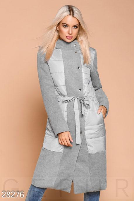 Пальто со вставками GEPUR
