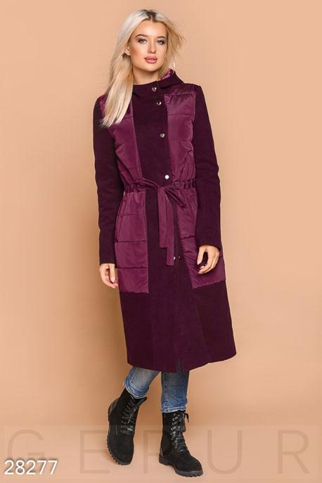 Удлиненное демисезонное пальто GEPUR