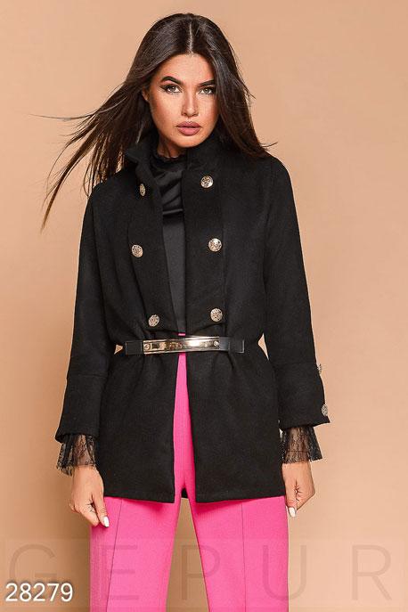 Неординарное кашемировое пальто купить в интернет-магазине в Москве, цена 1278.34 |Пальто-28279