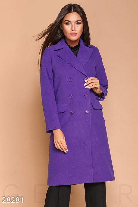 Прямое кашемировое пальто купить в интернет-магазине в Москве, цена 1813.14 |Пальто-28281