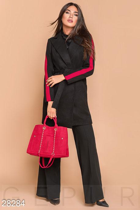 Пальто с ремнем купить в интернет-магазине в Москве, цена 1592.65 |Пальто-28284