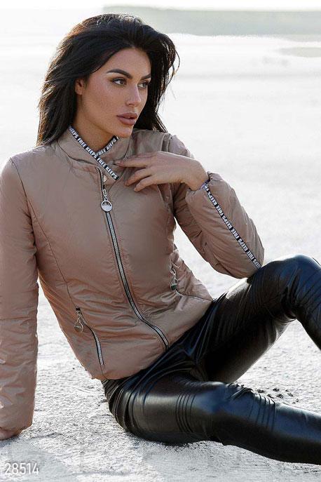 Женская куртка с декором GEPUR