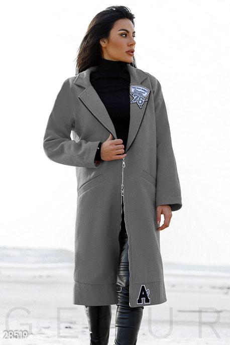 Оригинальное кашемировое пальто купить в интернет-магазине в Москве, цена 2134.48 |Пальто-28519