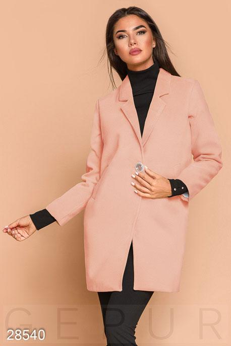 Демисезонное пальто-пиджак купить в интернет-магазине в Москве, цена 1660.67 |Пальто-28540