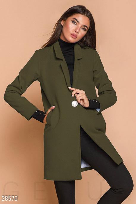 Демисезонное пальто-пиджак купить в интернет-магазине в Москве, цена 1660.67 |Пальто-28570