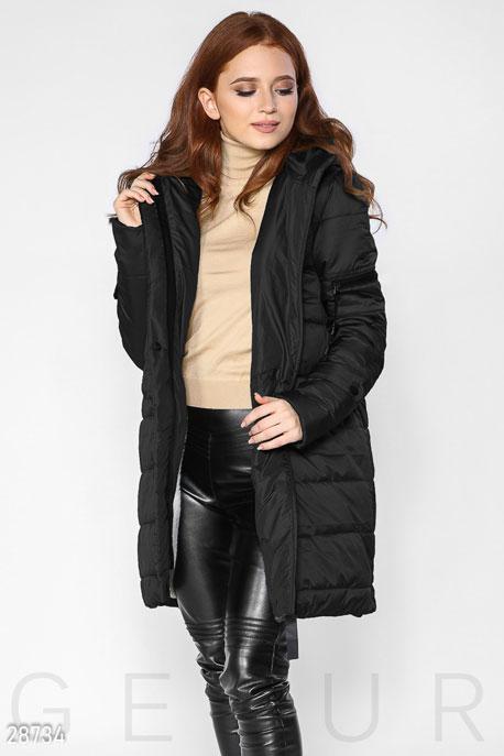 Стеганое пальто с капюшоном GEPUR