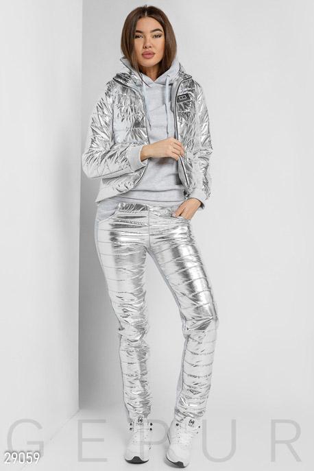 Утепленный костюм-тройка