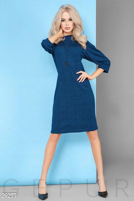 Купить Платья / Миди, Платье с подвеской, Платье-29277, GEPUR, синий