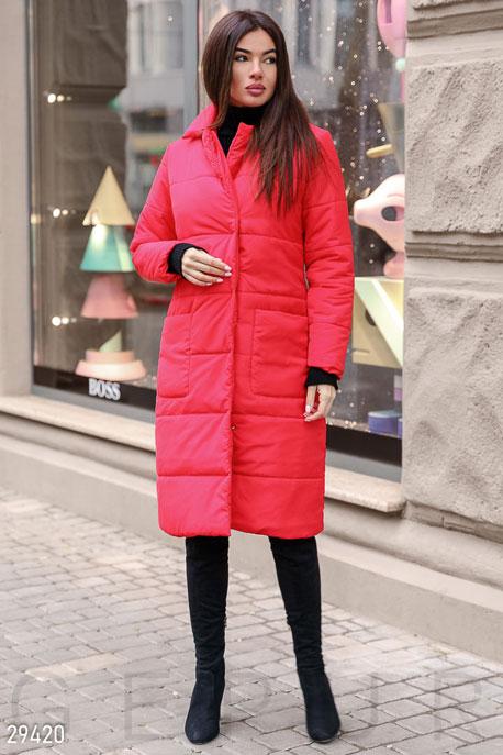 Трендовое стеганое пальто GEPUR