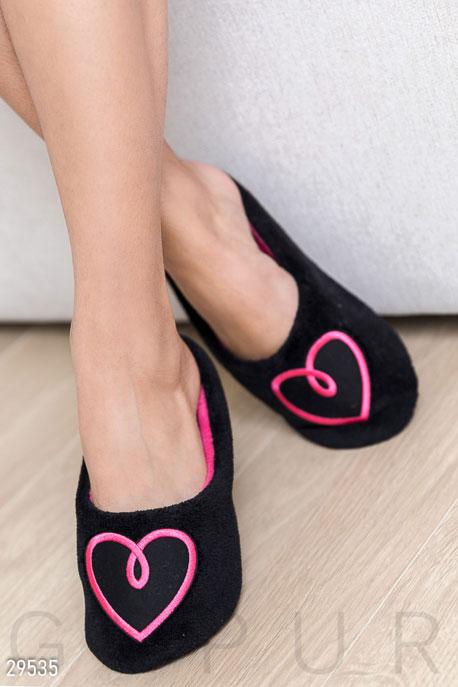 Купить Одежда для дома / Обувь, Домашние тапочки с рисунком, Тапочки-29535, GEPUR, черный