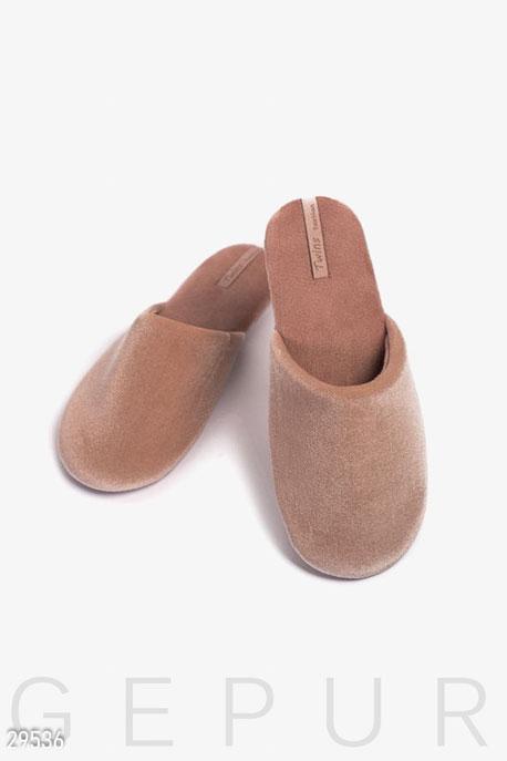 Купить Одежда для дома / Обувь, Женские тапочки, Тапочки-29536, GEPUR, табачный