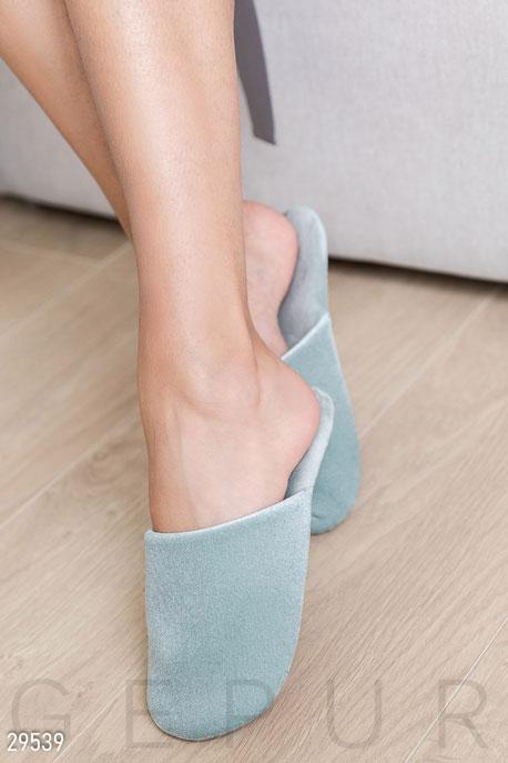 Купить Обувь, Однотонные домашние тапочки, Тапочки-29539, GEPUR, светло-зеленый