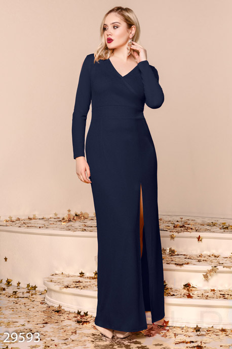Эффектное платье-макси GEPUR