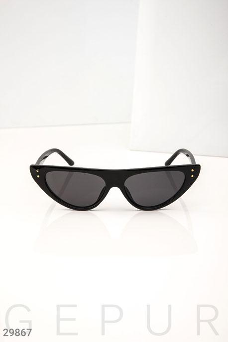 Купить Аксессуары / Очки, Женские очки кошачий глаз, Очки-29867, GEPUR, Черный